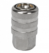 Air Chuck, Quick Coupler (Nickel Plated)