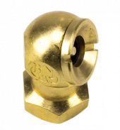 "Brass, Ball-Foot Air Chuck 1/4"" NPT"