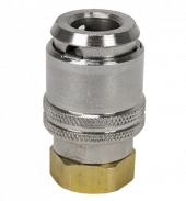 "Large Bore Lock-On Air Chuck 1/4"" NPT (Flow-Thru Design)"