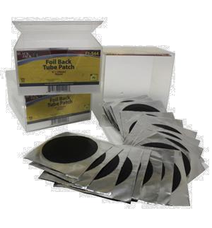 """Foil Back Tube Patch 3"""" ~ (76mm)"""