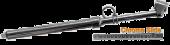 Truck Tire Gauge w/ Alum. Slid 10-150 psi  (50-1050 kpa)
