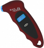 Digital Tire Gauge  w/Light (Red)  0-100 psi