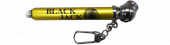 Yellow Pencil Tire Gauge 0-20 PSI (White Plastic Slide)