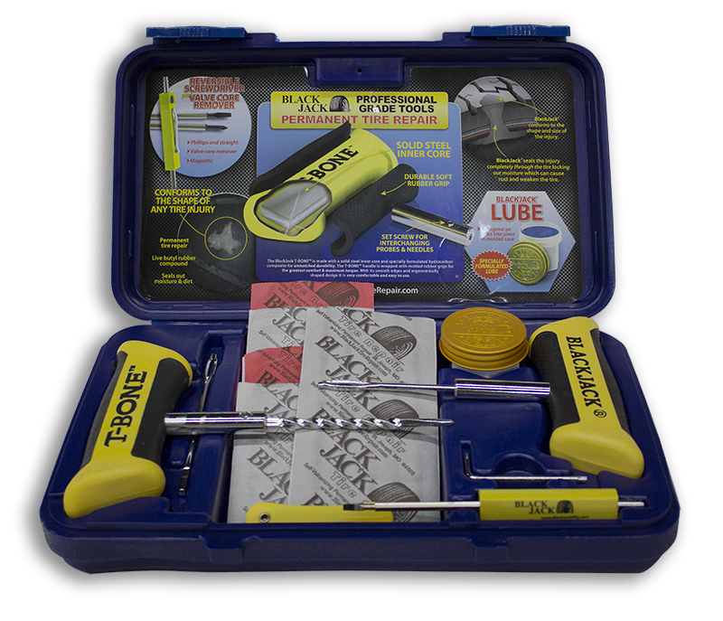 Tire Repair Kit >> Tire Repair Kit Blue Blackjack Tire Supplies Inc