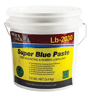 Tire Mounting Paste Blue Synthetic