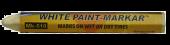 "Paint Stick White 1/2"" Diameter Hex"
