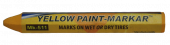 """Paint Stick Yellow 1/2"""" Diameter Hex"""