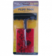 Plastic Handle Plug Tool w/ 5 repairs