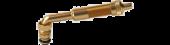 "Valve Stem  3 1/8"" Eff. Length (Large Bore), 80 Degree bend"