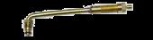 """Vs-J652 - 5 1/2"""" Large Bore Swivel Valve (TRJ652), 86 Degree Bend"""