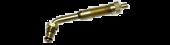 """Vs-J654 - 3 1/8"""" Large Bore Swivel Valve (TRJ654), 60 Degree Bend"""