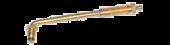 """Vs-J658 - Large Bore Swivel Valve Stem (TRJ658), 5 1/2"""" Long 80 Degree Bend"""